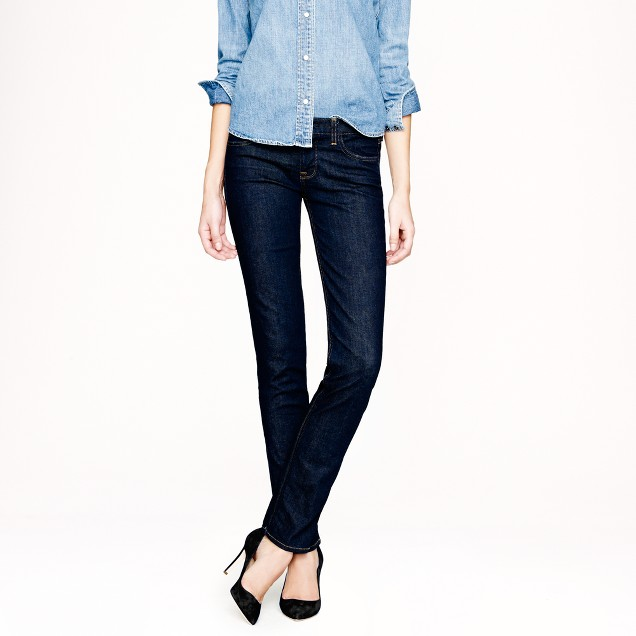 Tall matchstick jean in classic rinse wash