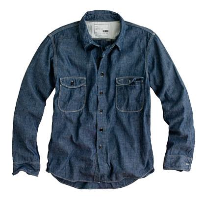 KATO` / AAA chambray shirt