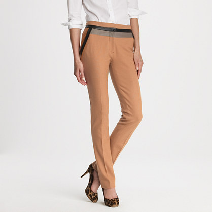 Olivia trouser in sienna