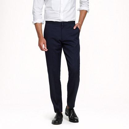 Ludlow classic tuxedo pant in Italian wool
