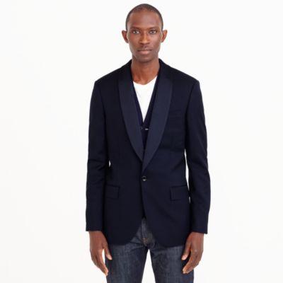 Ludlow shawl-collar tuxedo jacket in Italian wool