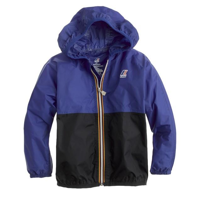 Kids' K-Way® for crewcuts Claude Klassic jacket in colorblock
