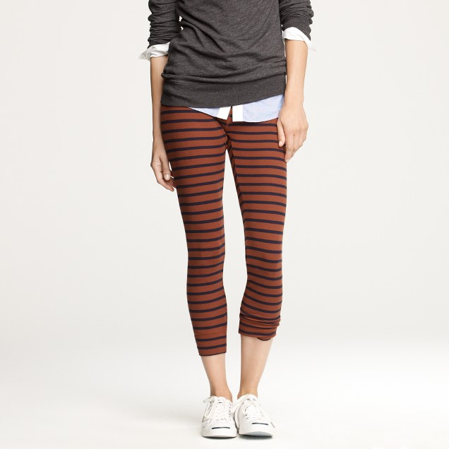 Big-stripe leggings
