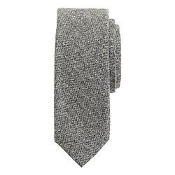 Irish bird's-eye wool tie