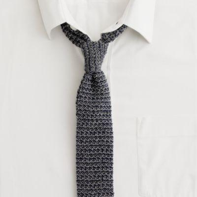 Mens Tie Knitting Pattern : Gidley knit tie : knit ties J.Crew