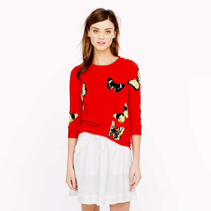 Collection cashmere Tippi sweater in monarch