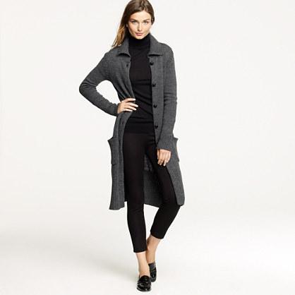 Long cardigan coat sale j crew