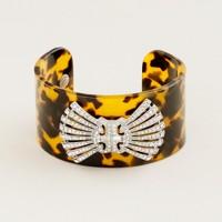 Deco bow tie cuff