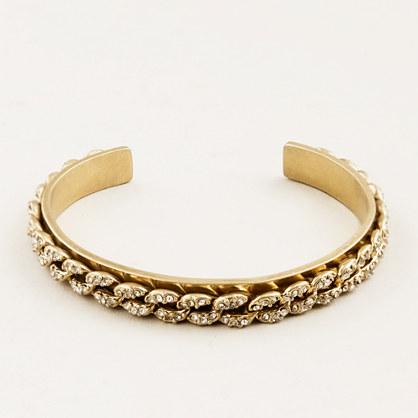 Crystal-link cuff