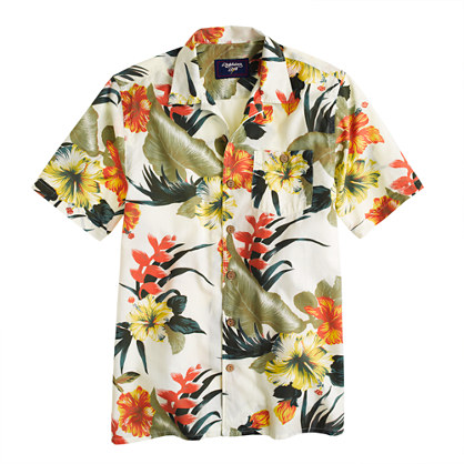 Lightning Bolt® flowers Aloha Shirt