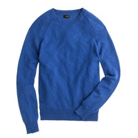 Slim textured slub cotton sweater