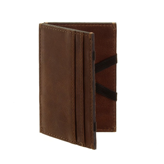 Leather magic wallet