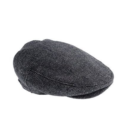 Wool driving cap