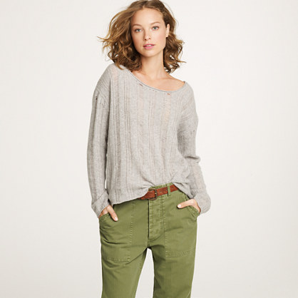 Nili Lotan® open-stitch sweater