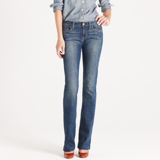 Tall bootcut jean in dance off wash