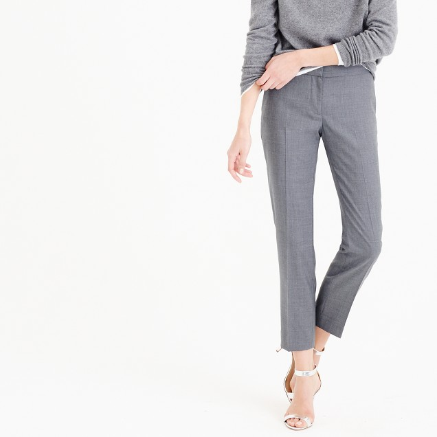 Paley pant in Super 120s wool