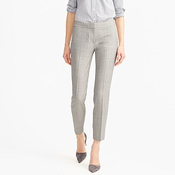 Petite Paley pant in Super 120s wool