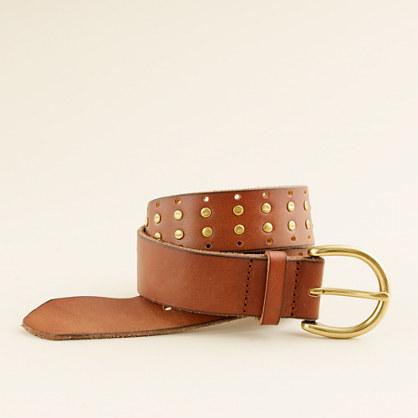 wide studded belt belts j crew
