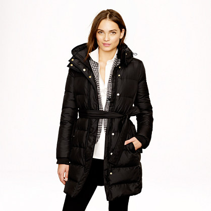 Tall wintress puffer coat
