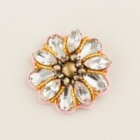 Girls' flower power pin