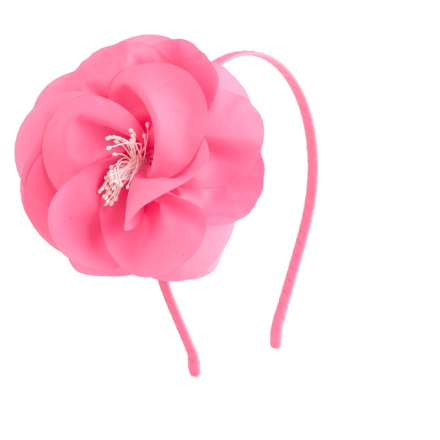Girls' begonia flower headband