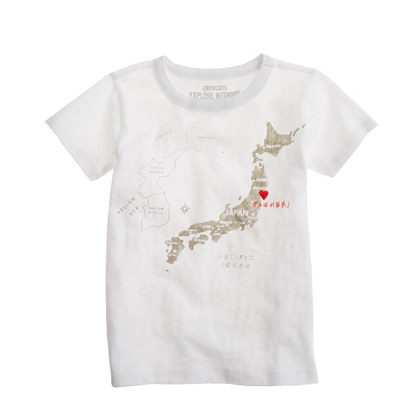 Kids' Japan Love graphic tee