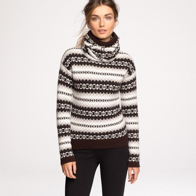 Authier® cashmere ski sweater