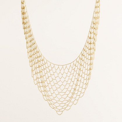 Fishnet necklace
