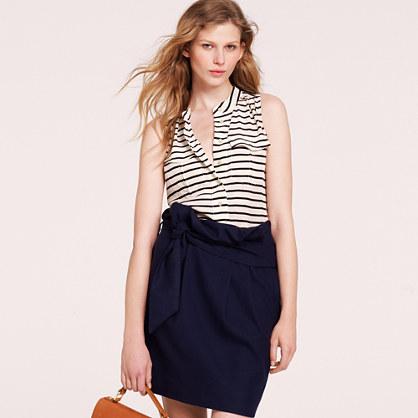 Elodie sleeveless blouse in stripe