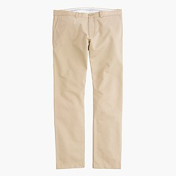 Unhemmed essential chino in 484 fit