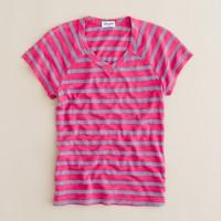 Girls' Splendid® chambray-stripe tee