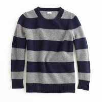 Factory stripe lambswool popover