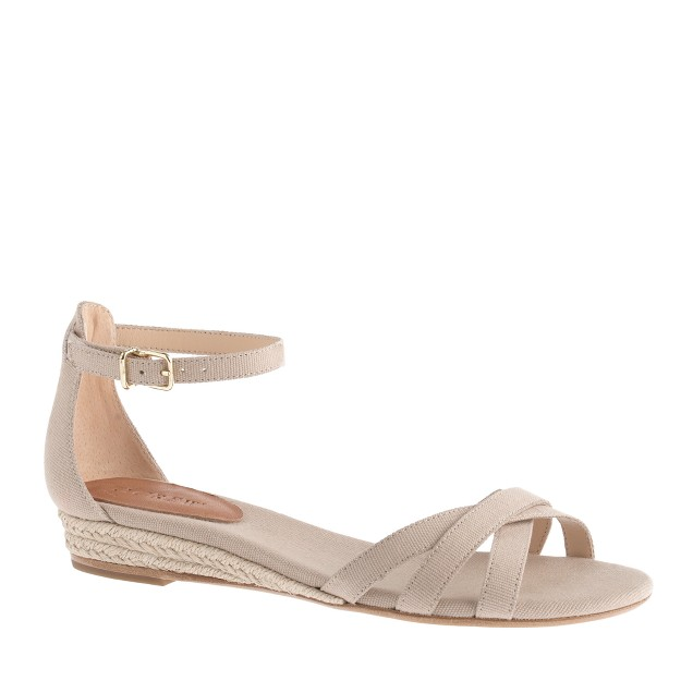 Marina mini-wedge espadrilles