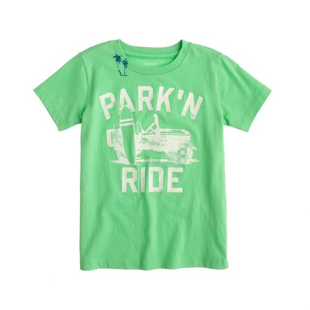 Boys' park 'n' ride tee