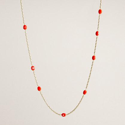Mini pebble necklace