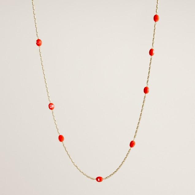 Mini pebble necklace : | J.Crew