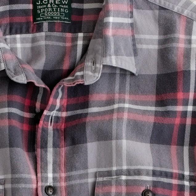 Vintage flannel shirt in Redmond plaid