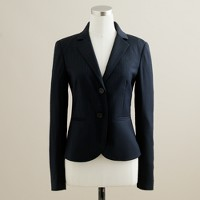 Aubrey jacket in pinstripe Super 120s
