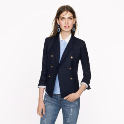 Double-breasted schoolboy blazer : Women jackets & outerwear | J.Crew