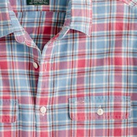 Vintage flannel shirt in Hopley plaid
