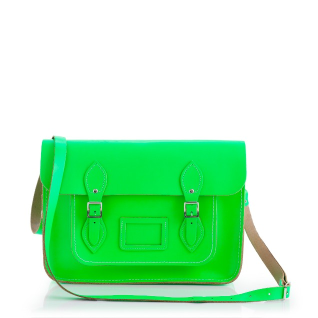The Cambridge Satchel Company® fluorescent satchel