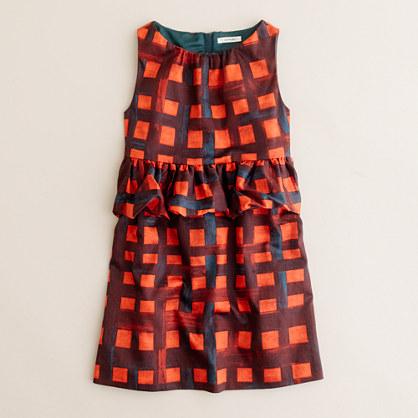 Girls' holly days dress