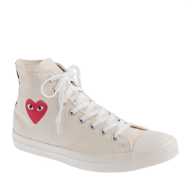 Unisex PLAY Comme des Garçons® for Converse® high-top sneakers