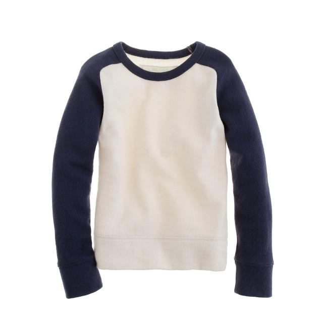 Boys' baseball sweatshirt