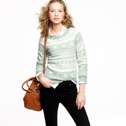 Dream Fair Isle crewneck sweater