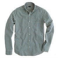 Secret Wash button-down shirt in Addison gingham