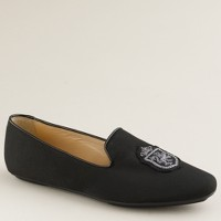 Darby silk faille loafers