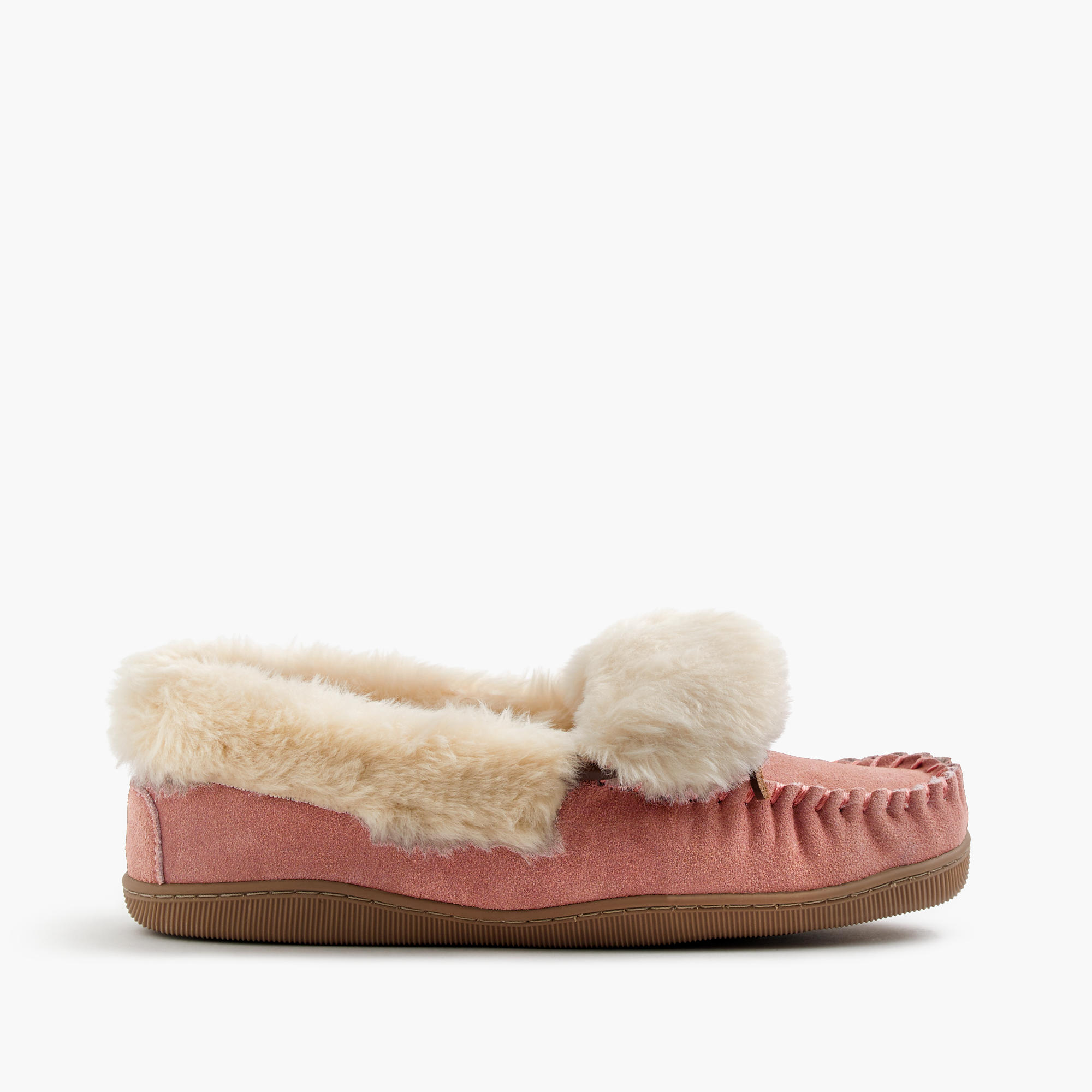 Women 39 s lodge moccasins women 39 s slippers j crew for J crew bedroom slippers