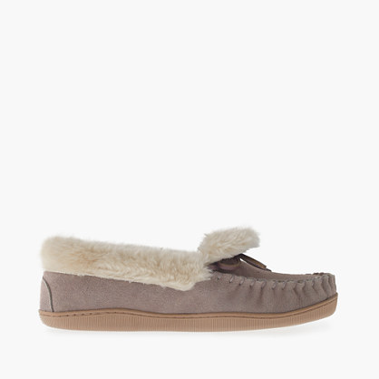 women 39 s lodge moccasins slippers j crew