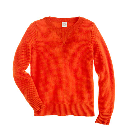 Kids' dream waffle sweater